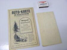 Autokarte Südwestdeutschland AvD + Badischer Automobil-Club, Konvolut