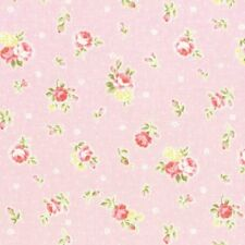 Cottage Shabby Chic Lecien Princess Rose Small Roses Fabric 31267L-20 Pink  BTY