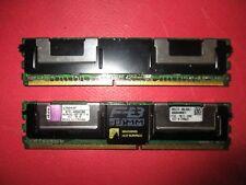 LOT (2x4)8GO Kit Kingston KTH-XW667LP/4G PC2-5300F DDR2 2Rx8 FBDIMM ECC SERVEUR