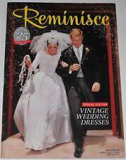Reminisce Magazine June/July 2016 Vintage Wedding Dresses TV Westerns Star Trek