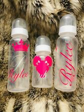 Personalized Baby Bottle Sets
