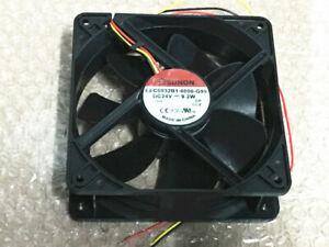 1PC SUNON EEC0832B1-0000-G99 12038 12CM 24V 9.2W 3-wire inverter cooling fan