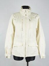Schoffel Hooded Venturi Women Cream Jacket Size UK-14, Genuine