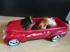 2000 Chevy SSR Starletz Barbie Included Car--Head Light Lights up &Motor Noises