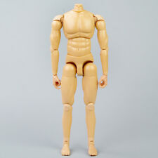 """Flexible Model 1/6 Scale Dragon Toys 12"""" Action Figure Nude Muscle Man Body Gift"""