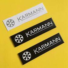 VW Mk1 Golf Karmann badge refurb X2 (Sticker supplied only)