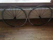 FRONT REAR FULCRUM RACING 4 WHEELS WHEELSET ROAD BIKE TRACK 99p EX CONDITION NR!