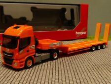 1/87 Herpa Iveco Stralis XP Tieflade-Sattelzug Boels Rental NL 309318