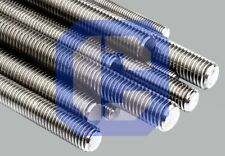 "Pure Molybdenum- Moly- Threaded Rod 1/4""-20  X 36"" length"
