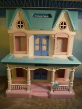 1993 FISHER PRICE FOLDING FAMILY DOLLHOUSE