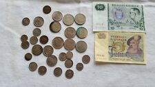 Vintage Sweden Coin paper money lot
