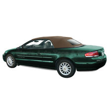 Sebring Convertible Top 01-06 in Sandalwood Sailcloth, Heated Glass Window