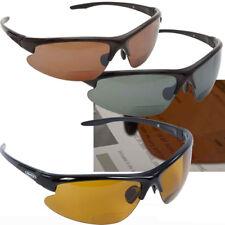 Snowbee Prestige Lupa Gafas para sol Marco Negro, Lente Amarillo 18116-4