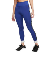 Nike Tights Womens Small Authentic New The One Glam Dunk 7/8 Training Royal Blue