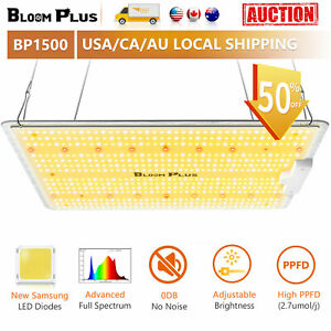 Bloom Plus 1500W LED Grow Light Sunlike Full Spectrum Indoor Plants Veg Bloom