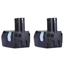 2X 18V Battery For Hitachi EBM1830 BCL1815 DH18DL DS18DL DV18DL 3000mAh 18 Volt