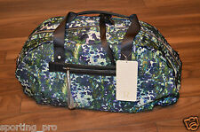 NWT Lululemon All You Need Duffel Bag Floral Backdrop White Multi / Deep Coal