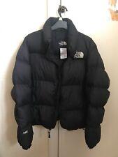 The North Face Womens  600 Down Fill Puffer Jacket Coat Medium Black