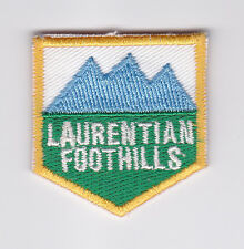 SCOUTS OF CANADA -  CANADIAN SCOUT QUEBEC LAURENTIAN FOOTHILLS DISTRICT Patch