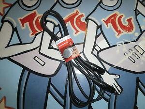 Quality Male / Female XLR Cable 1.5m x 6mm Audio Balanced Microphone Lead 190090