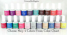 IBD Gel Nail Polish Choose Any 4 Colors From Color Chart