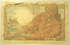 FRANCE - BANK NOTE 20 FRANCS 1949