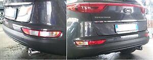 Kia Sportage From 2015 Muffler Finalino Chrome-Plated Round Diameter 89mm