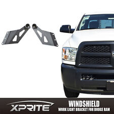 "50"" Straight & Curved LED Light Bar Roof Mount Bracket Dodge RAM 1500 2500 3500"