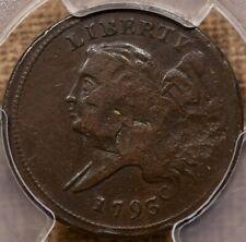 1793 C.4 Half cent, PCGS F det...NOT! Really XF det w/luster! DavidKahnRareCoins