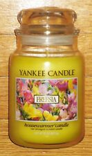 Yankee Candle - FREESIA - 22 oz - RARE AND HARD TO FIND!!