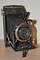 Voigtlander German folding 6x9 120film camera CLA works Compur Voigtar
