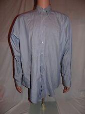 Brooks Brothers Men's Original Polo Dress Shirt Cotton 16-35 USA Blue Stripe EUC