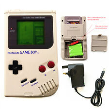 Refurbished Rechargeable Nintendo Game Boy DMG-01 Console + Game Card + Charger
