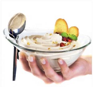 set 6 Coppette Gelato snack Coppe Practica Borgonovo 10 cm macedonia stuzzichini
