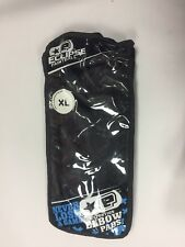 Eclipse Paintball 09 Elbow Pads XL Formed Eva Vented Neoprene White