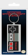 Nintendo NES Console Controller Rubber Keychain Keyring