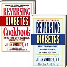 Reversing Diabetes,updated & Reversing Diabetes Cookbook (pb) Julian Whitaker