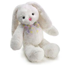 """Burton & Burton 18"""" Isabelle Bunny White Plush"""