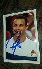 STEPHEN CURRY - WARRIORS  - 2015 MVP - 2009  Topps Rookie Card Rare #321 signed