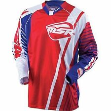NOS MSR 331574 M16 NXT JERSEY RED NAVY SIZE MENS LARGE