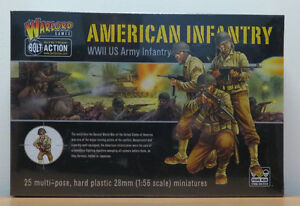 Bolt Action - American Infantry Warlord Games 28mm Brand New in Box