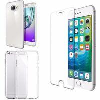 étui pour téléphone portable housse en silicone de protection Transparent