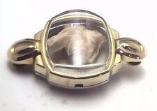NOS Antique Star Watch Case Co 10k Yellow Gold GP Womens Wrist Watch Case #Star3