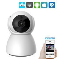 1080P Wireless IP Camera Home Security CCTV Network Cam Wifi V380 Pan/Tilt IR