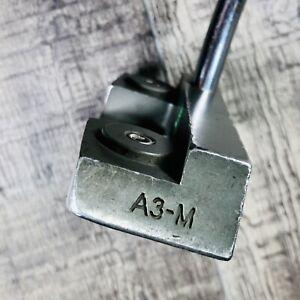"Boccieri Golf A3-M Heavy Putter 34"" Right Handed Steel Shaft Club Original Grip"