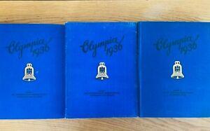 Sammelalbum Olympia 1936 Band 1 + 2 Komplett