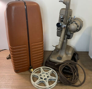 Antique Revere 16mm Film Movie Projector Model 48 Working w/ Case, Reel and Cord