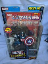 Marvel Legends Ultimate Captain America Series 8 Toy Biz W/Trading Card NIB