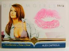 ALEX CAPRIOLA AUTHENTIC KISS CARD DREAMGIRLS 4/10 BENCH WARMER 2017 RARE