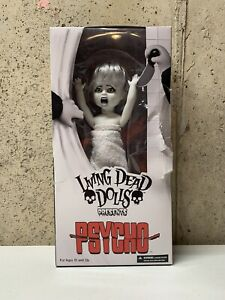 Living Dead Dolls Psycho Marion In White Bath Towel In Damaged Box See Photos